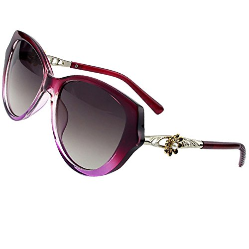Sumery Women Elegant Flower Decorate Sun Glasses Fashion Brand Designer - Funk Sunglasses Price