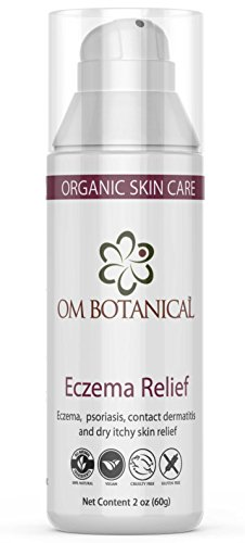 ECZEMA & PSORIASIS Treatment CREAM 100% Natural Steroid Free Lotion for Adult & Baby Eczema, Psoriasis, Contact Dermatitis Relief without Hydrocortisone. Stop Itch & Heal w/ Organic Ayurvedic Therapy