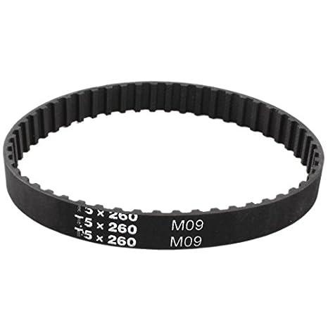 T5mm Pitch 49 Teeth 10mm Width 10T5//245 Timing Belt245mm Length