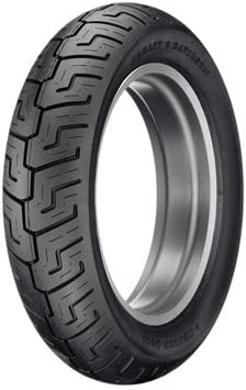 Black Wall for Harley-Davidson Road King FLHR//I 1999-2003 73H Dunlop D401 Rear Motorcycle Tire 130//90B-16