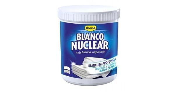 Iberia Blanco Nuclear Blanqueador Quitamanchas Polvo - 450 gr: Amazon.es: Salud y cuidado personal