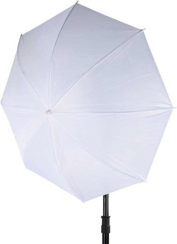 Tangxi 33 Inch Translucent White Soft Umbrella,Translucent Umbrella for Photo and Video Studio ShootingTranslucent Umbrella