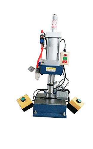GLT-80 0.3x0.2inch Tracheal Diameter 110V 660LB Pneumatic Punch Press Machine Metalworking Tooling by Punch Machine