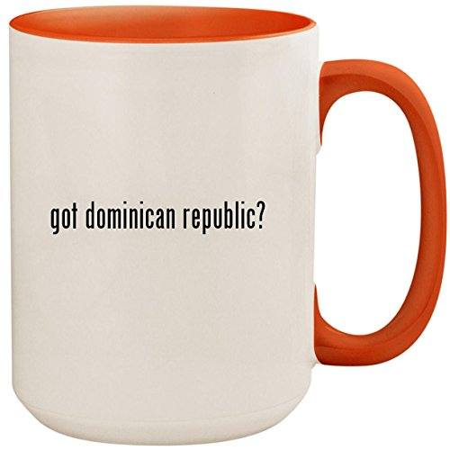ic? - 15oz Ceramic Colored Inside and Handle Coffee Mug Cup, Orange ()