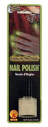 Rubies Costume Glow Dark Polish