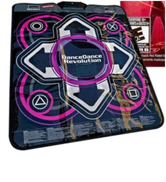 Playstation 3 Dance Mat (PS3) from Dance Dance Revolution - Game ...