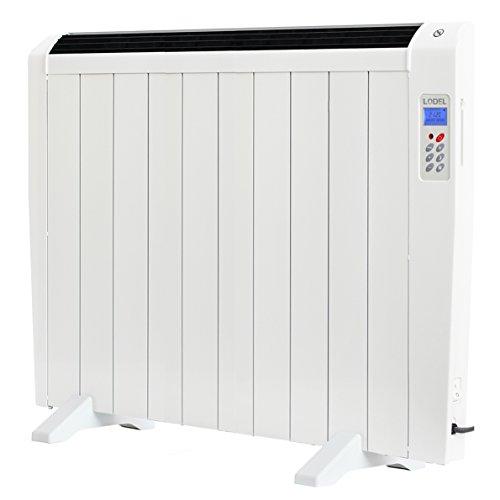 LODEL RA10 | Emisor Térmico Bajo Bajo Consumo | 1500W | 10 Elementos de Aluminio | 17 – 24m2 | Calentamiento Rápido…