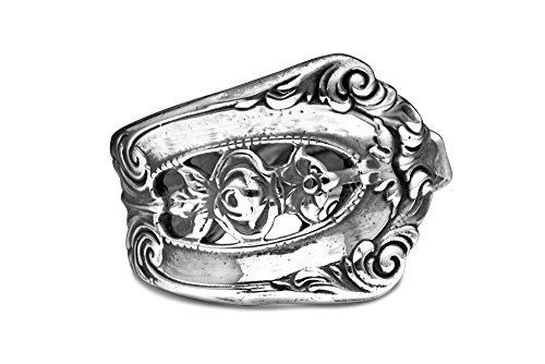 Silver Spoon Jewelry Silver Plated Adjustable Ring