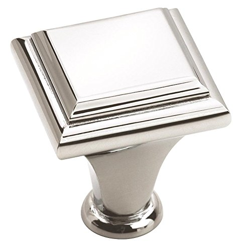 Amerock BP26131-26 Manor Knob 1-Inch Diameter, Polished ()