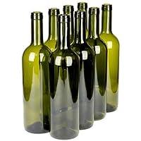 Botellas de vino vacías, 8 unidades, 750 ml