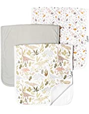 Copper Pearl Baby Burp Cloth Large 21''X10'' Size Premium Absorbent Triple Layer 3 Pack Gift Set Rex, 0.10 gram