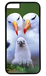 Beautiful and Cute Animal DIY Hard Shell Black Best Fashion iphone 6 plus Case