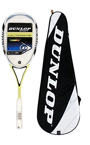 Amazon.com: Dunlop Aerogel Ultimate – Raqueta de squash ...