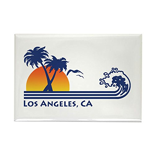 CafePress Los Angeles, CA Rectangle Magnet, 2