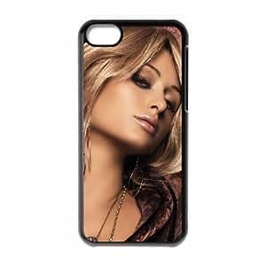 paris hilton amazing look wide iPhone 5c Cell Phone Case Black DA03-256179