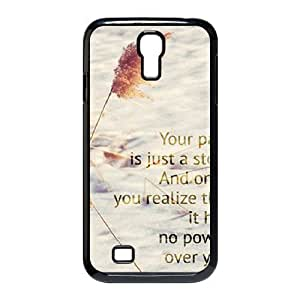 Quotes Custom Cover Case for SamSung Galaxy S4 I9500,diy phone case ygtg528457