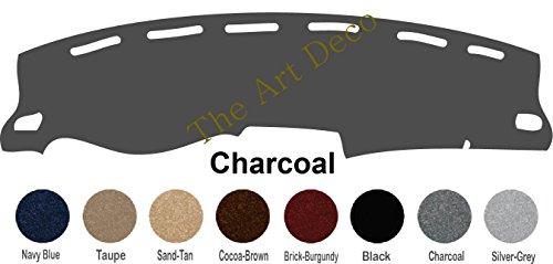 - The ArtDeco Custom Made Dash Cover Fits 2016-2019 Toyota Tacoma Dash Cover Dashboard Cover Mat Dash Pad - Premium Custom Carpet (Charcoal)