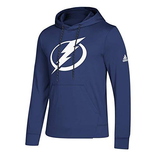 adidas Tampa Bay Lightning NHL Men's Goalie Pullover Hooded Sweatshirt