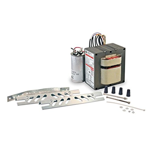 GE Lamps GEM100048TAA5-5-480 Magnetic Core And Coil HID Distributor Replacement Ballast Kit 480 Volt 1050 Watt System 1-Lamp Probe Start (Probe Ballast Magnetic Start)