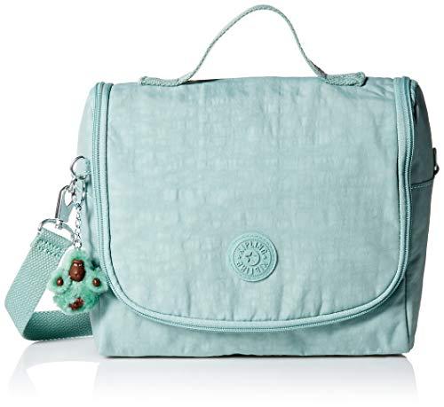 Kipling Kichirou Insulated Lunch, Removable, Adjustable Crossbody Bag, Zip Closure, Fern Green Tonal