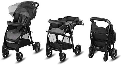 ruedas hinchables Silla de paseo incluye cubierta para lluvia Crunchy Red Cbx Misu Air desde el nacimiento hasta los 15 kg