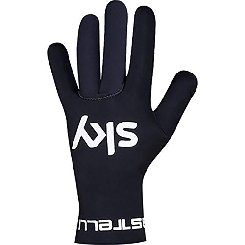 (Castelli Team Sky Diluvio Glove Black, L/XL - Men's)