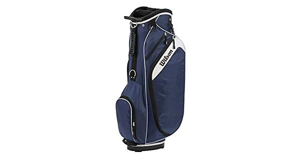 Amazon.com: Wilson Profile Cart Bag Blue: Sports & Outdoors