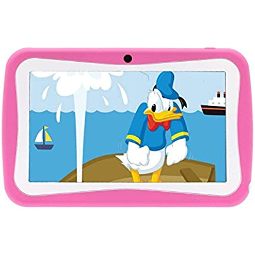 PoGo 7 Android 4.0 Tablet PC for Kids Children A13 1.2GHz 4GB Dual Cam- (Pink) Coupons