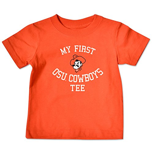 College Kids NCAA Oklahoma State Cowboys Infant Short Sleeve Tee, 12 Months, (Ncaa Baby Clothing)