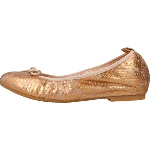 Zapatos Color Mujer 17007 Mikaela Bailarina Metálico Metálico para Mikaela Marca Zapatos Modelo Metálico para Mujer Bailarina xwOC8EYtq
