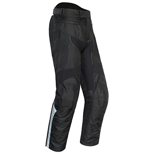 (Cortech Apex Air Mens Textile Street Motorcycle Pants - Black/X-Large Tall)