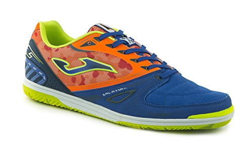 JOMA CALCETTO SALA MAX 604 ROYAL-FLAME FLUOR-NAVY INDOOR 46
