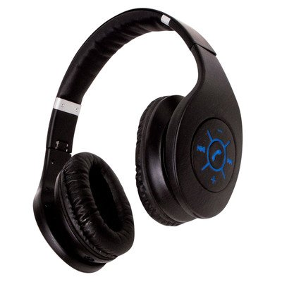 Sunbeam Black Bluetooth Foldable Stereo Headphone (Sunbeam Headphones compare prices)