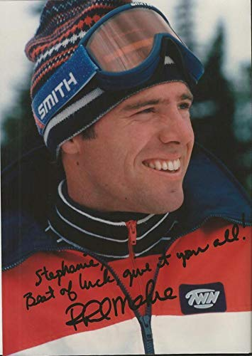 Phil Mahre Signed 5x7 Vintage Photo Postcard B - Autographed Sports Photos from Sports Memorabilia