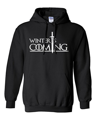 Winter is Coming DT Sweatshirt Hoodie (Large,
