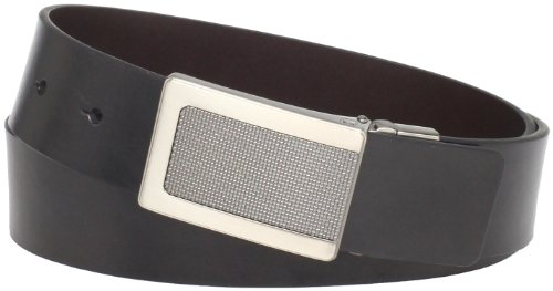 Kenneth Cole REACTION Men's Reversible Plaque Buckle Belt