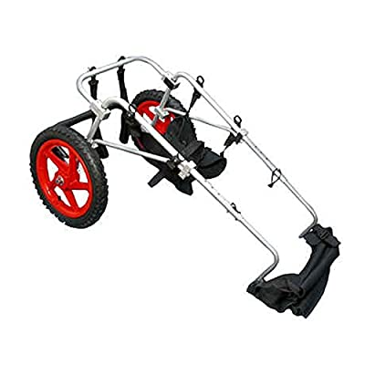 Best Friend Mobility BFML-S&J Elite Dog Wheelchair, Large