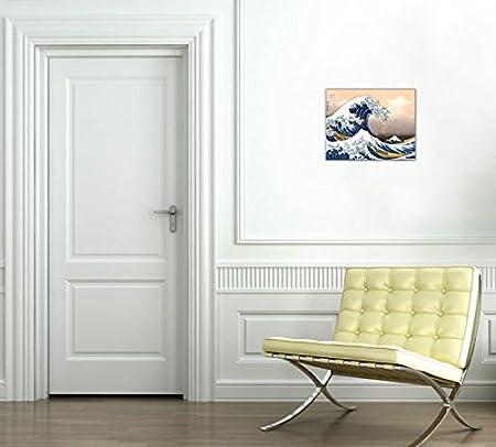1art1 Katsushika Hokusai Poster Reproduction Sur Toile Tendue Sur