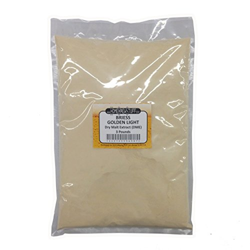 Dry Malt Extract - Briess Light Dry Malt Extract 3lbs for Home Brewing
