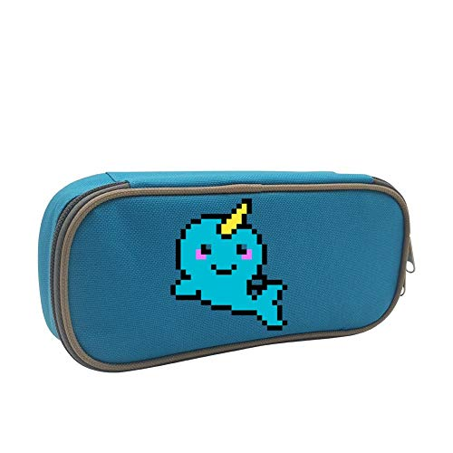 Bead Narwhal Large Capacity Stationery Durable Capacity Stationary Pen Case Pencil Holder for Girls School