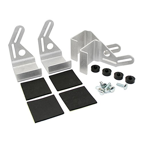 Assault Racing Products A1007KIT 12in / 16in Cooling Fan Mounting Bracket Kit for 19in Tall Crossflow Radiator ()
