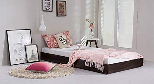 Urban Ladder Merritt Single Trundle Bed  Finish : Mahogany