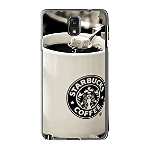 Protective Cell-phone Hard Cover For Samsung Galaxy Note 3 (AHc799IZqx) Support Personal Customs High-definition Danbo Starbucks Image
