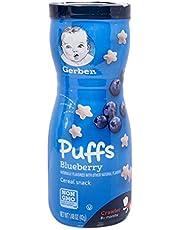 Nestlé Gerber Graduates Puffs, Blueberry, 42g