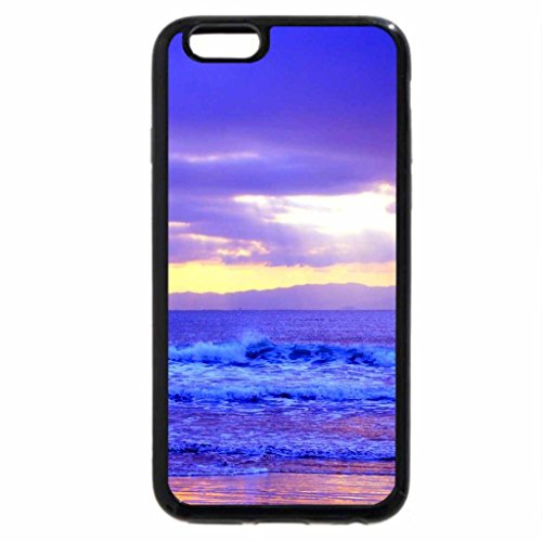 iPhone 6S / iPhone 6 Case (Black) KISSING WAVES