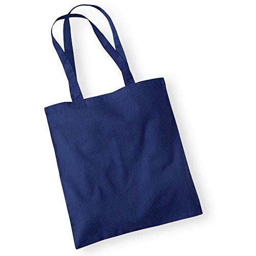 Mujer Tela Azul Baumwolltasche Bolso Marino de Westford para Mill vYCHxH