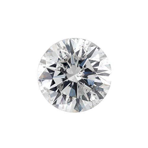 0.42 ct Round Brilliant Cut 4.60 mm G I2 Loose Diamond Natural Earth-mined (0.42 Ct Round Diamond)