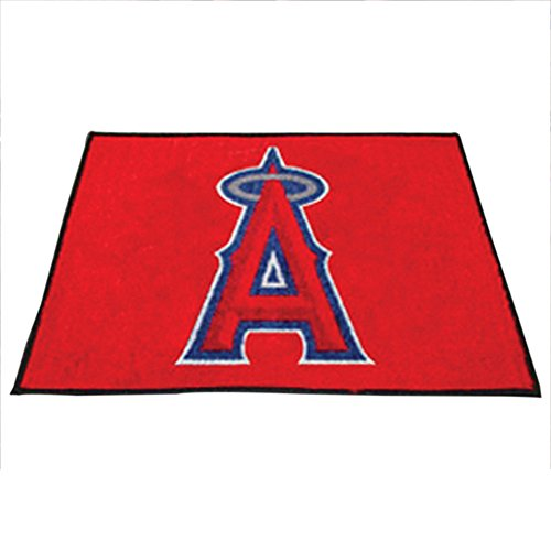 Fanmats Sports Team Logo Los Angeles Angels Tailgater Rug (Angels Tailgater Rug)