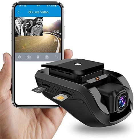 Dual Dash Cam Dashboard Camera 3G WiFi Dash Cam JimiIoT JC100 GPS Dash Cam Dashboard Cam for cars Dual Dash Camera Recorder-16GB TF Card Free Live Video Remote Video Photo Night Vision Loop Recording