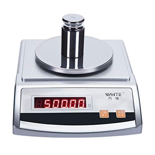 (LBBL Scale Balance Digital Scale Weighing Food Scales 200g/0.001g Laboratory Industrial Weighing Jewelry Scales LCD Electronic Balance For Laboratory Pharmacy School Kitchen Store)